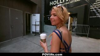POVLife – Horny Blonde Teen (Alina West) Loves to Get c.